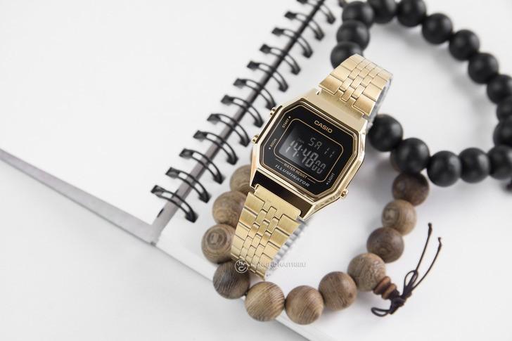 Đồng hồ nữ Casio LA680WGA-1BDF giá rẻ, thay pin miễn phí - Ảnh 1