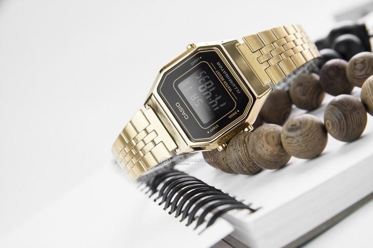 Đồng hồ nữ Casio LA680WGA-1BDF giá rẻ, thay pin miễn phí - Ảnh 2