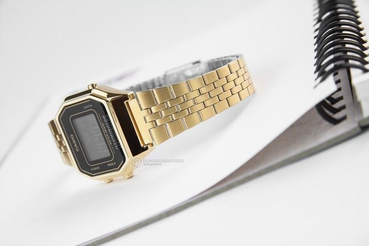 Đồng hồ nữ Casio LA680WGA-1BDF giá rẻ, thay pin miễn phí - Ảnh 3