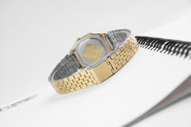 Đồng hồ nữ Casio LA680WGA-1BDF giá rẻ, thay pin miễn phí - Ảnh 4