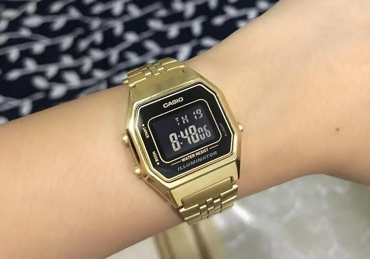 Đồng hồ nữ Casio LA680WGA-1BDF giá rẻ, thay pin miễn phí - Ảnh 6