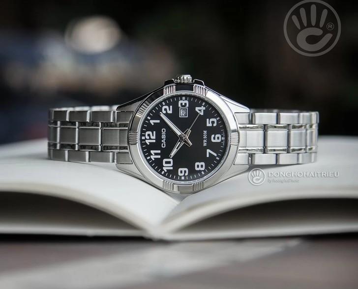 Đồng hồ Casio MTP-1308D-1BVDF giá rẻ, thay pin miễn phí - Ảnh 1