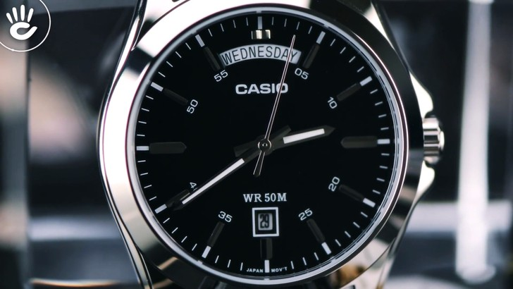 Đồng hồ Casio MTP-1370L-1AVDF máy Nhật, thay pin miễn phí - Ảnh 3