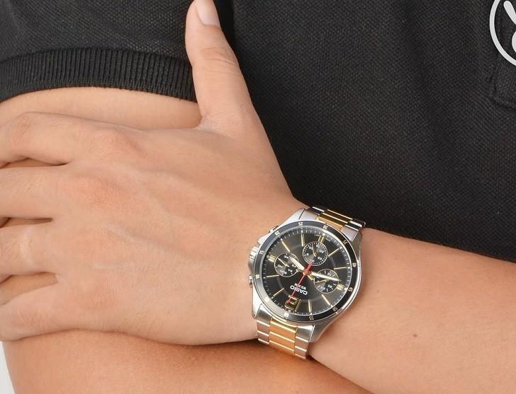 Đồng hồ Casio MTP-1374SG-1AVDF giá rẻ, thay pin miễn phí - Ảnh 3