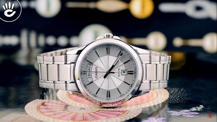 Đồng hồ Casio MTP-1381D-7AVDF giá rẻ, miễn phí thay pin - Ảnh: 1