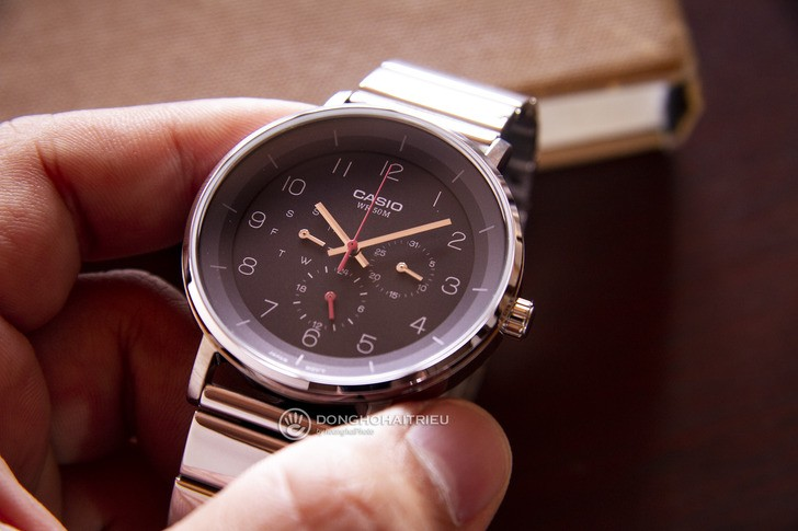Đồng hồ Casio MTP-E314D-1BVDF giá rẻ, free thay pin trọn đời - Ảnh 1