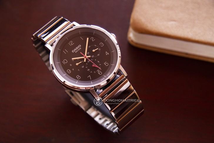 Đồng hồ Casio MTP-E314D-1BVDF giá rẻ, free thay pin trọn đời - Ảnh 2