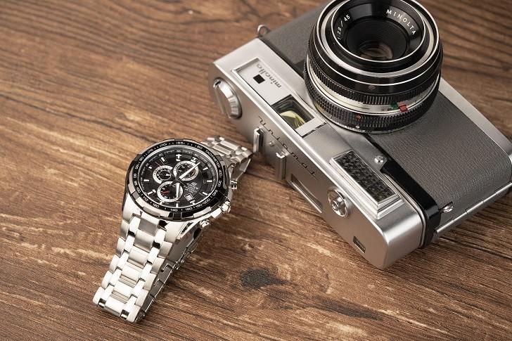 Đồng hồ nam Casio EF-539D-1AVUDF giá rẻ, thay pin miễn phí - Ảnh 1