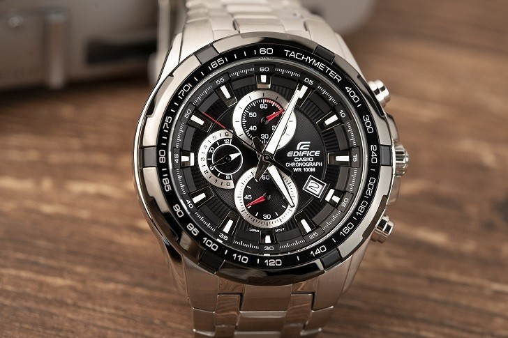 Đồng hồ nam Casio EF-539D-1AVUDF giá rẻ, thay pin miễn phí - Ảnh 3