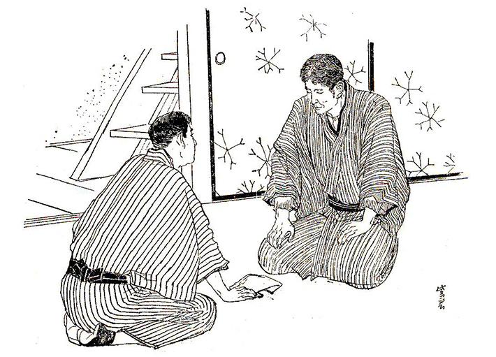 Câu Chuyện Về Cuộc Đời Của Nhà Sáng Lập Seiko Kintaro Hattori Trao Tiền Cho Chủ Cửa Hàng Đồng Hồ Sakata