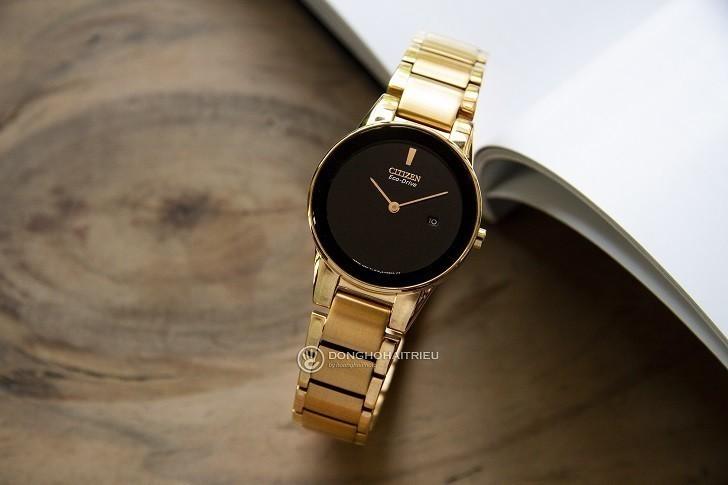 Đồng hồ nữ Citizen GA1052-55E bộ máy năng lượng ánh sáng - Ảnh 1