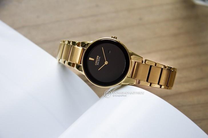 Đồng hồ nữ Citizen GA1052-55E bộ máy năng lượng ánh sáng - Ảnh 3