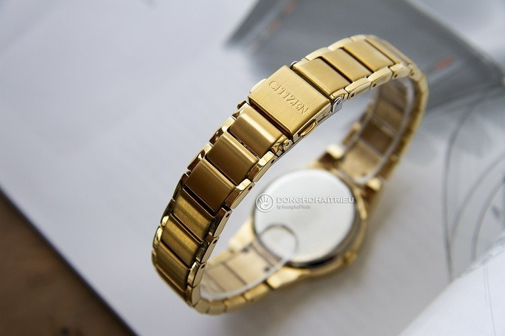 Đồng hồ nữ Citizen GA1052-55E bộ máy năng lượng ánh sáng - Ảnh 4