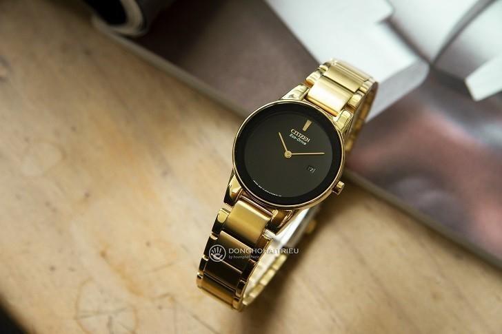 Đồng hồ nữ Citizen GA1052-55E bộ máy năng lượng ánh sáng - Ảnh 5