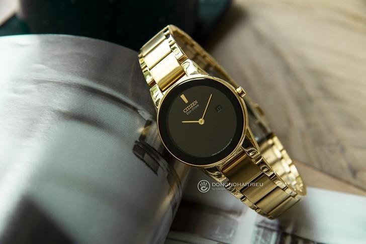 Đồng hồ nữ Citizen GA1052-55E bộ máy năng lượng ánh sáng - Ảnh 6