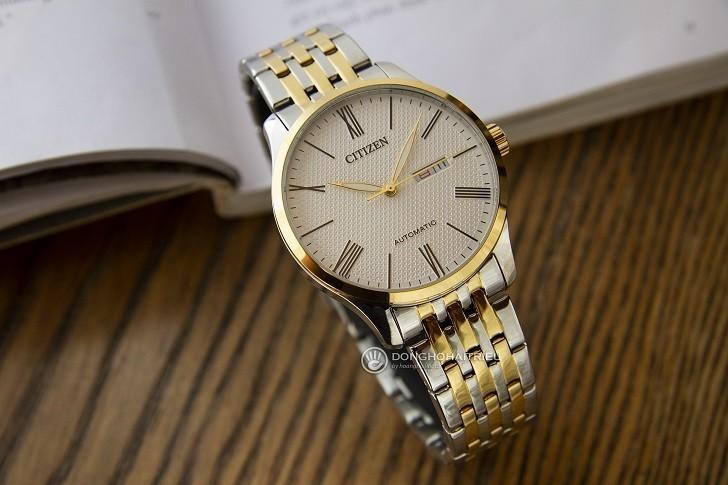 Đồng hồ Citizen NH8354-58A máy cơ, kim phủ dạ quang đẹp mắt - Ảnh: 1
