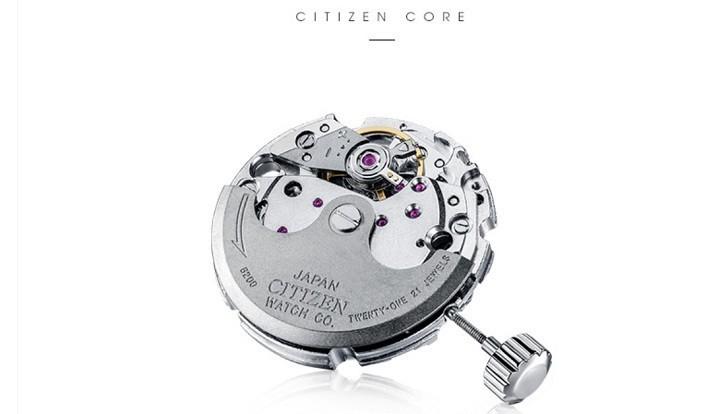 Đồng hồ Citizen NH8360-80L automatic, trữ cót đến 40 giờ - Ảnh 2