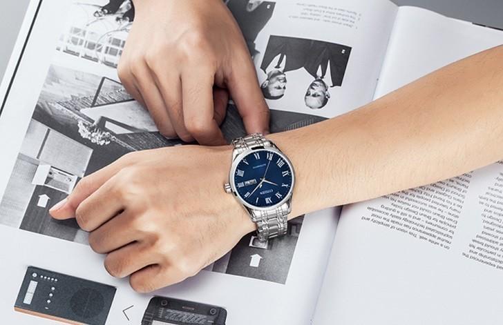Đồng hồ Citizen NH8360-80L automatic, trữ cót đến 40 giờ - Ảnh 3