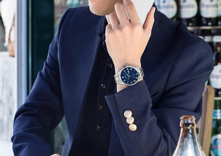 Đồng hồ Citizen NH8360-80L automatic, trữ cót đến 40 giờ - Ảnh 5