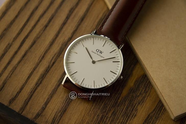 Đồng hồ nữ Daniel Wellington DW00100052 thay pin miễn phí - Ảnh 1