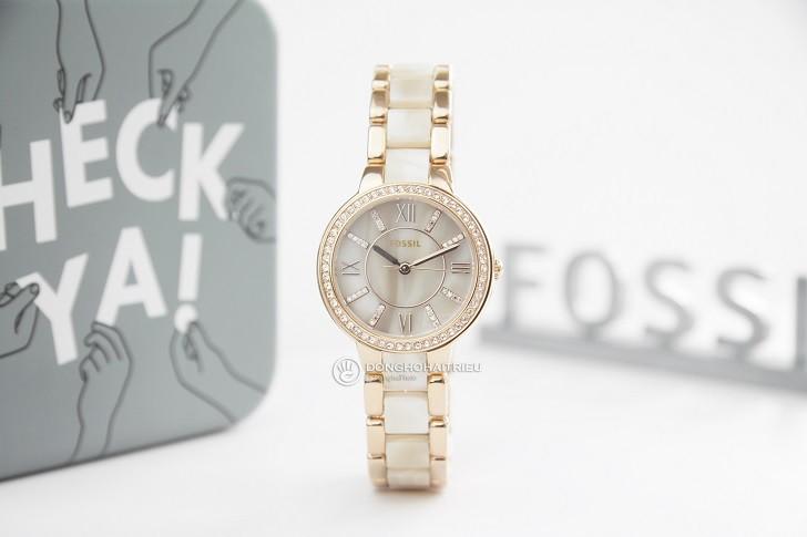 Đồng hồ Fossil ES3716 giá rẻ, thay pin trọn đời miễn phí - Ảnh 1