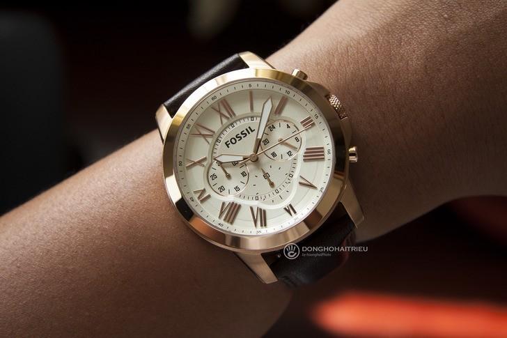 Đồng hồ Fossil FS4991 giá tốt thay pin miễn phí trọn đời - Ảnh 1