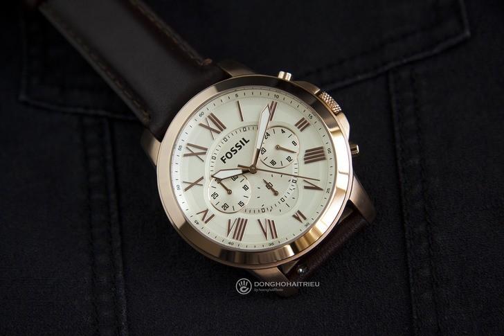 Đồng hồ Fossil FS4991 giá tốt thay pin miễn phí trọn đời - Ảnh 2