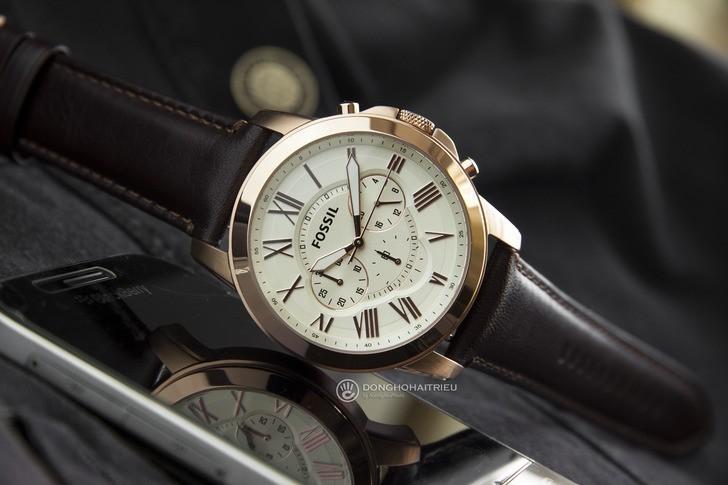 Đồng hồ Fossil FS4991 giá tốt thay pin miễn phí trọn đời - Ảnh 3