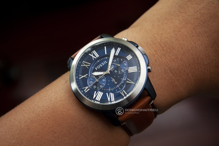 Đồng hồ Fossil FS5151 giá rẻ, thay pin miễn phí trọn đời - Ảnh 3