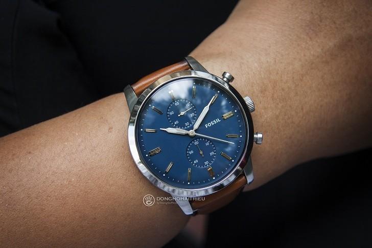 Đồng hồ Fossil FS5279 giá rẻ, thay pin miễn phí trọn đời - Ảnh 1