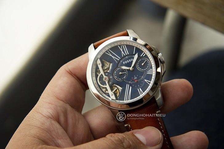 Đồng hồ Fossil ME1161 sự kết hợp giữa máy cơ và máy quartz - Ảnh 2
