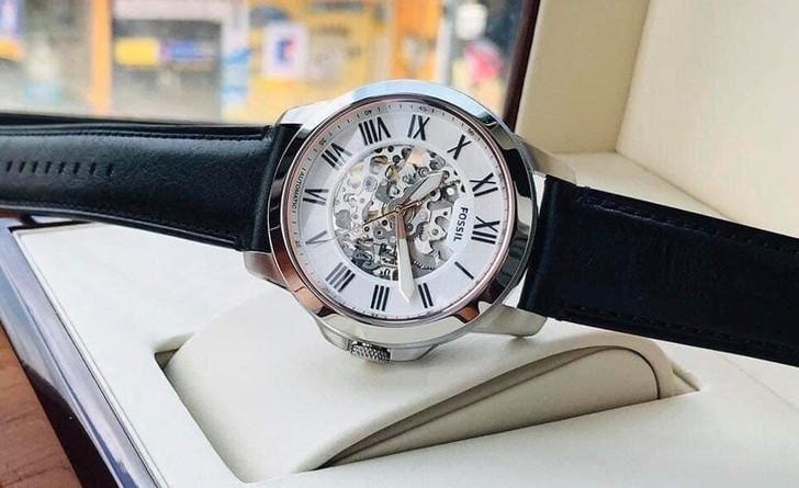 Đồng hồ Fossil ME3101 thiết kế Skeleton có một không hai - Ảnh 1