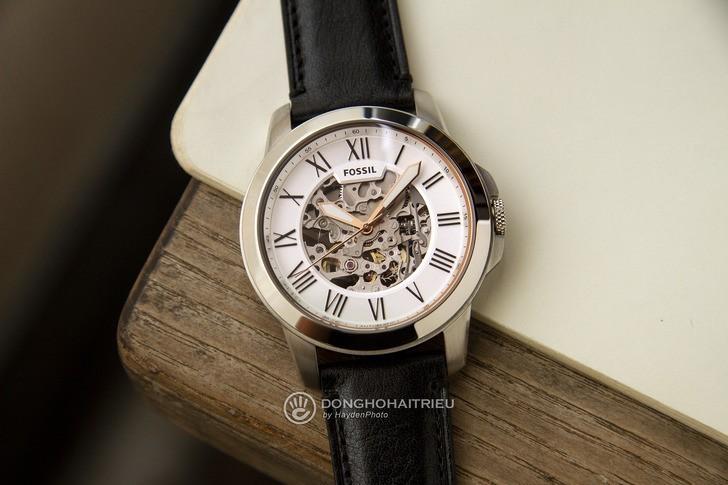 Đồng hồ Fossil ME3101 thiết kế Skeleton có một không hai - Ảnh 2