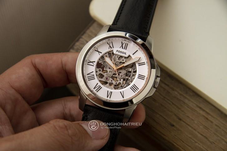 Đồng hồ Fossil ME3101 thiết kế Skeleton có một không hai - Ảnh 3