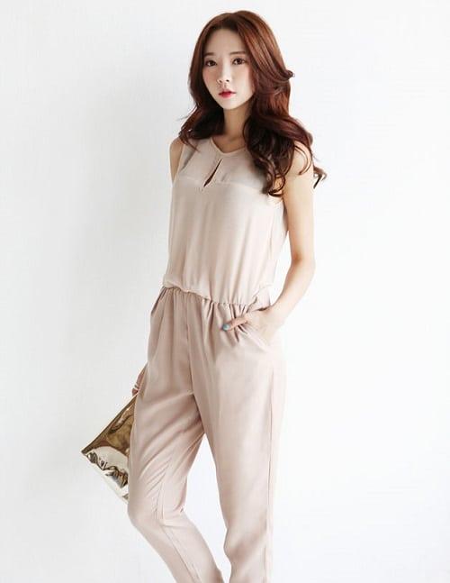 gợi ý các kiểu áo liền quần công sở đẹp 4