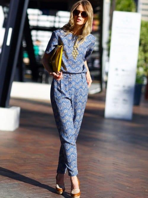 gợi ý các kiểu áo liền quần công sở đẹp 5