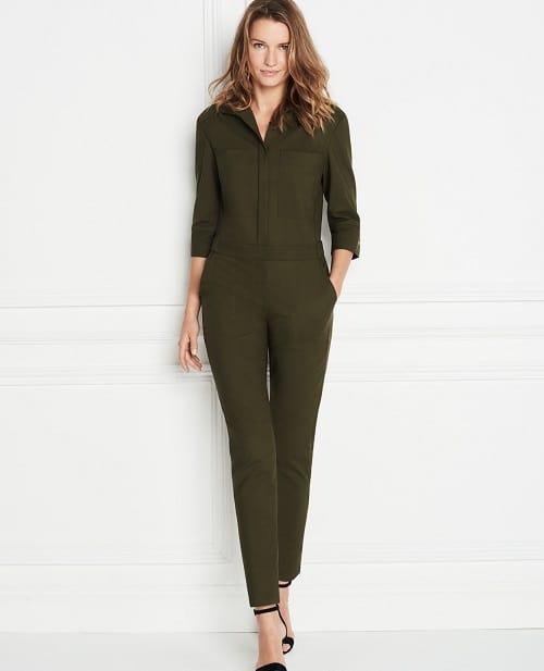 gợi ý các kiểu áo liền quần công sở đẹp 6