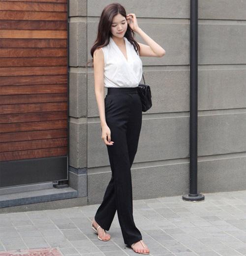 lợi ích của mặc quần công sở nữ lưng cao