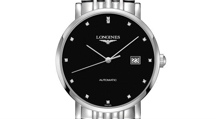 Đồng hồ Longines L4.910.4.57.6 máy cơ, siêu mỏng Thụy Sỹ - Ảnh: 1