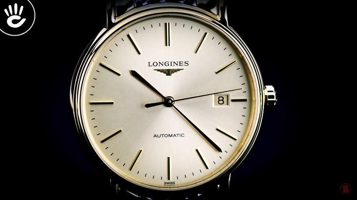 Đồng hồ Longines L4.921.2.32.7 máy cơ, siêu mỏng Thụy Sỹ - Ảnh: 1