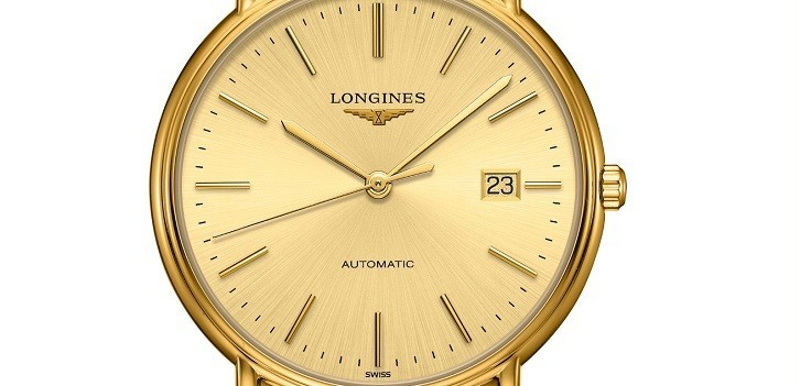 Đồng hồ Longines L4.921.2.32.7 máy cơ, siêu mỏng Thụy Sỹ - Ảnh: 5