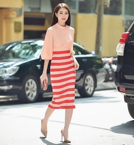 những cách phối màu quần áo nữ công sở cụ thể 4