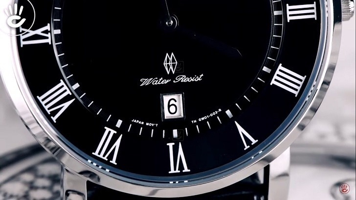 Đồng hồ Orient FGW0100GB0 trang bị kính Sapphire chống trầy - Ảnh 5