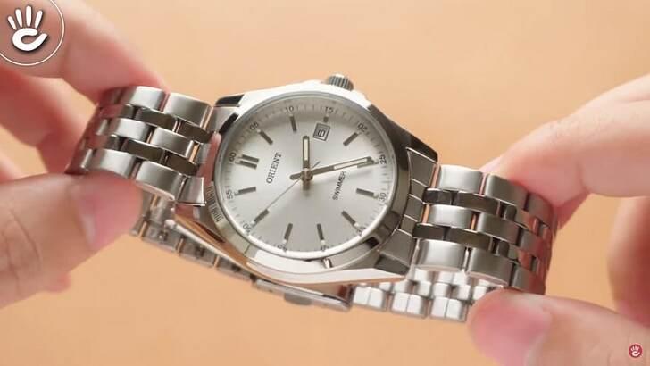 Đồng hồ nam Orient SUND6003W0 giá rẻ, thay pin miễn phí - Ảnh 2