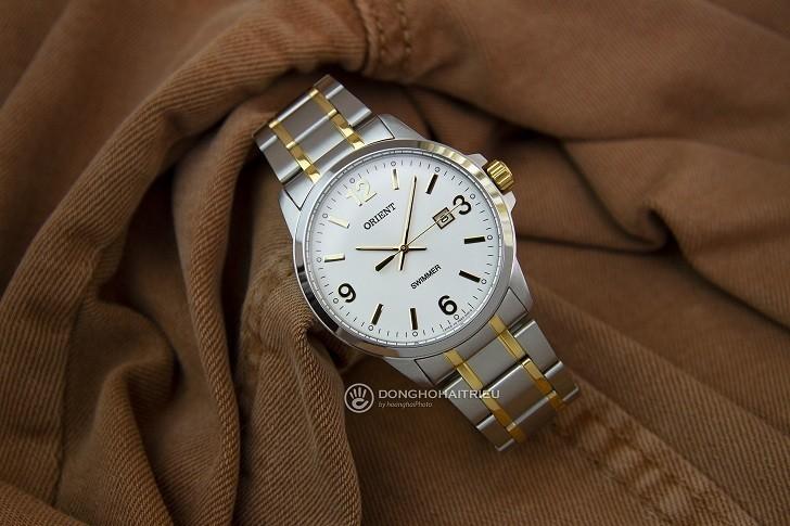 Đồng hồ Orient SUNE5002W0 giá rẻ, đi bơi thoải mái (10atm) - Ảnh: 1