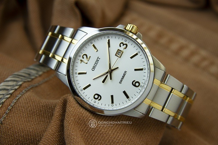 Đồng hồ Orient SUNE5002W0 giá rẻ, đi bơi thoải mái (10atm) - Ảnh: 3