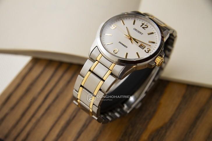 Đồng hồ Orient SUNE5002W0 giá rẻ, đi bơi thoải mái (10atm) - Ảnh: 5