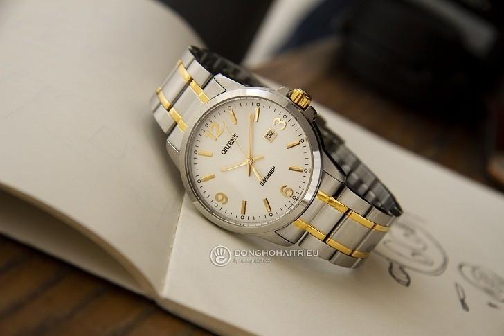 Đồng hồ Orient SUNE5002W0 giá rẻ, đi bơi thoải mái (10atm) - Ảnh: 8