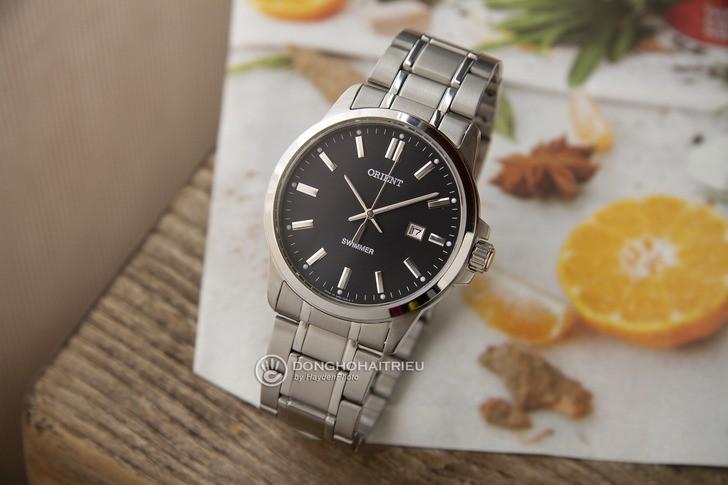 Đồng hồ Orient SUNE5003B0 tông bạc sang trọng, nam tính - Ảnh 1