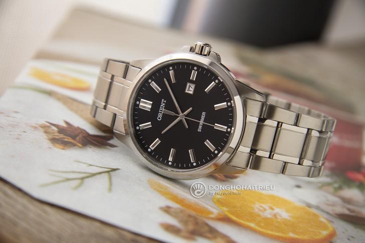 Đồng hồ Orient SUNE5003B0 tông bạc sang trọng, nam tính - Ảnh 2